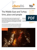 Time Diary of an Arab Consumer; The Middle East and Turkey; time place and people