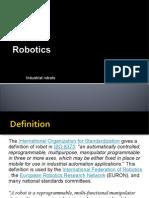 Fundamentals Of Robotics Actuator Servomechanism