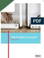The Future of UK GAAP