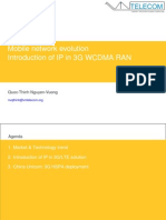 Introduction of IP in 3G WCDMA