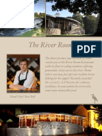 River Room Restaurant Menus