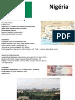 Geografia - Roménia e Nigueria