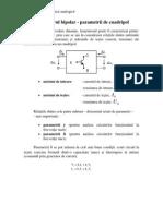 13_Tranzistorul Bipolar-parametrii de Cuadripola