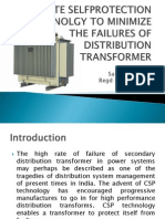 Complete Selfprotection Technolgy to Minimize the Failures Of distribution transformer.