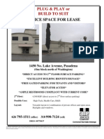 1450 N. Lake Avenue, Pasadena | for Lease