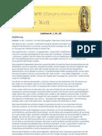 Lokutionen - Einsprechungen für die Welt Botschaften Nr. 001-385 - 300 Seiten