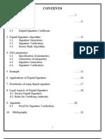 Digital Signature Seminar Report