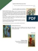 Biografia de Pablo Picasso Para Ninos