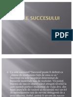legile succesului