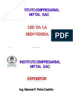 EXP. Parte I. Mallas Ing. Manuel Peña