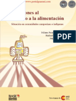 Agresiones al derecho a la alimentación - Situación en comunidades campesinas e indígenas - Paraguay - PortalGuarani