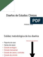Disenos Estudios Epidemiologicos ENARM09