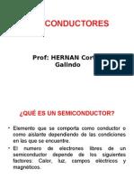 Semiconductor Intrinseco y Extrinseco UNI-2012