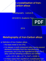 08. Iron-Carbon Phase Diagrams