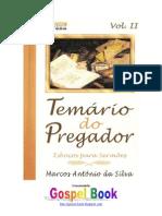 Marcos Antônio da Silva - Temário do Pregador 2