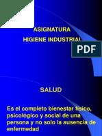 Catedra Higiene Industrial i