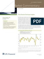 Weekly Market Commentary 4/15/2013