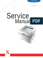 Xerox Phaser 3150 Service Manual