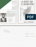 La Vérité sur le Burundi par Boniface Fidel Kiraranganya