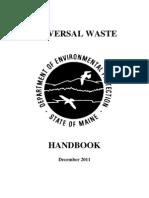 Universal Waste Mgmt Handbook - Maine