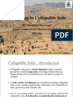 "Project Presentation on ""Foundation in Collapsible Soils"" by Chaitanya Raj Goyal"