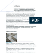 Limpieza ecológica y gratis.doc