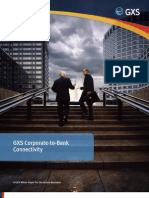 GXS Corporate-to-Bank Connectivity