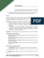PRÁCTICA DE SOLUCIONES Y pH