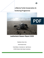 playanorteleatherbackreport2009 arce s a  and jones d a