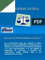 3. Personalidad Jurídica