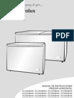Elecrolux Manual Chest Freezer Ec
