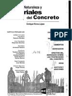 Naturaleza y Materiales de Concreto