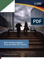 B2B e-Commerce Adoption Across the Global Steel Industry