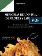 Memorias de Una Isla de Olores y Sabores