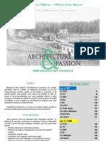 Catalogue Architecture Et Passion