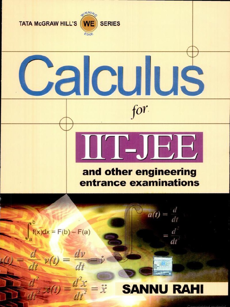 Calculus for iit jee pdf