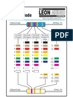 03-5 - Resistor Color Code Chart