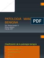 3. PATOLOGIAMAMARIABENIGNA_RenataHuaquin