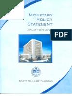 Monetary Policy Statement Jan to Jun 2007