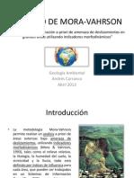 Método de Mora-Vahrson