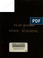 Art And Science Of Stair Building - L. D. Gould 1885