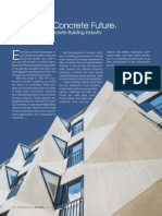 Article on 'Indian Precast Concrete Building Industry' by Chaitanya Raj Goyal