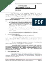 Capitulo III Atos Administrativos