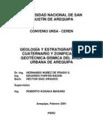 AREQUIPA GEOLOGIAY ESTRATIGRAFIA