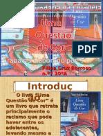 """""""Uma Questão de Cor"""" de Ana Saldanha, ficha de leitura elaborada por Filipa Barroso"""
