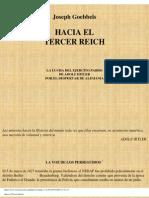 Hacia El Tercer Reich - Joseph Goebbels