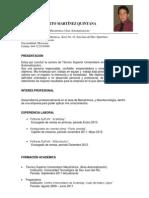 Curriculum Heberto Martinez Quintana