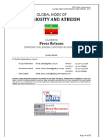 Win-gallup International Global Index of Religiosity and Atheism-2012