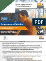 programa por competencias de Microbiologìa en Procesos Tecnològicos