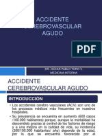 5. Accidente Cerebrovascular Agudo